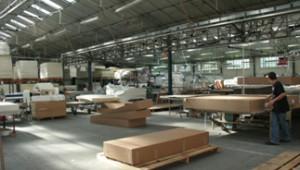 photo de l'usine generale francaise de literie GFL